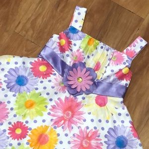 Youngland Girls Floral Dress Size 5